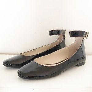 Louise et Cie Charisa Patent Leather Ankle Strap